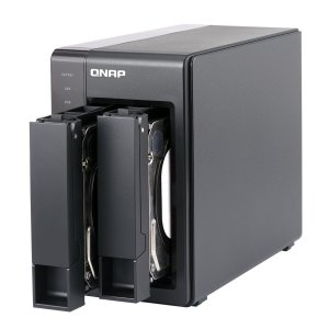 $248.99 QNAP TS-251+ 2-Bay Next Gen Personal Cloud NAS, Intel 2.0GHz Quad-Core CPU with Media Transcoding