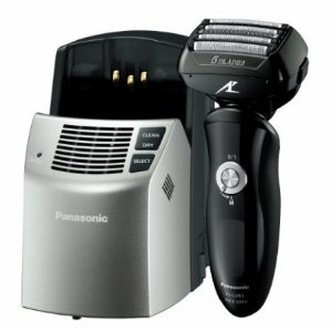 Panasonic ES-LV81-K Arc5 Electric Shaver Wet/Dry with Multi-Flex Pivoting Head and Automatic Cleaning System