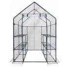 $91.85 Ogrow Deluxe Mini Walk-In 6-Tier 12-Shelf Portable Greenhouse