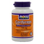 Now Foods Cordyceps 750mg, Veg-Capsules, 90-Count