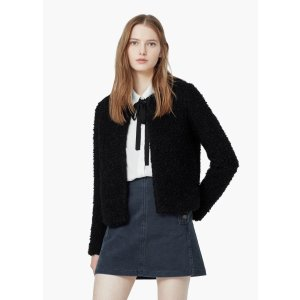 Textured alpaca-blend jacket - Women | OUTLET USA