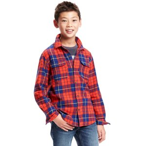 Plaid Flannel Shirt for Boys | Old Navy