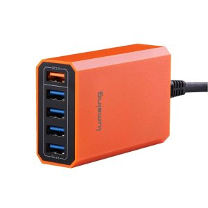 Lumsing Quick Charge 2.0 40W Multi-Port USB Desktop Charging Station Dock