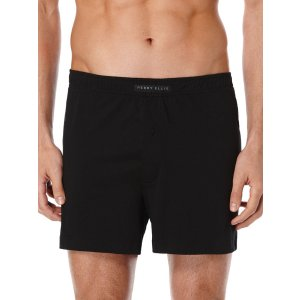 Solid Knit Boxer Short