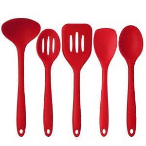 Deik Premium Silicone Kitchen Utensils 5 piece Set