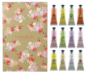 $25 (reg.$70) Crabtree & Evelyn 12 Hand Therapy Sets