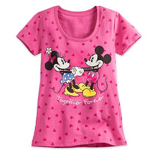 Minnie and Mickey Mouse Tee for Women | Disney Store