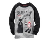 Toddler Boy Long-Sleeve How To Be A Vampire Halloween Tee | Carters.com