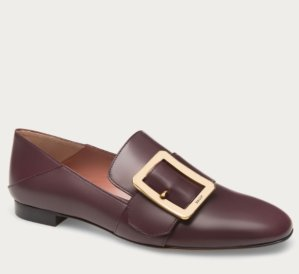 Bally Janelle Leather Slippers
