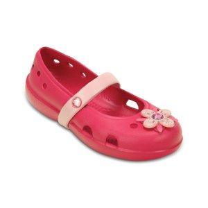 Crocs Raspberry & Petal Pink Keeley Springtime Flat | zulily