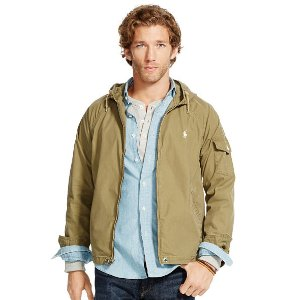 Cotton-Blend Windbreaker - Lightweight & Quilted � Jackets & Outerwear - RalphLauren.com