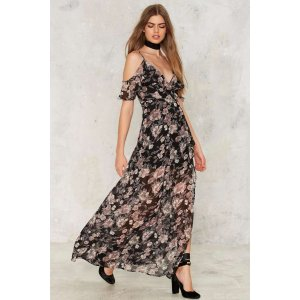 Mountains of the Moon Floral Maxi Dress
