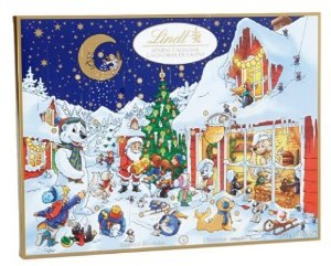 Lindt Chocolate Holiday Advent Calendar, 10.2 oz