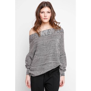 Free People Alana One Shoulder Pullover Sweater   South Moon Under