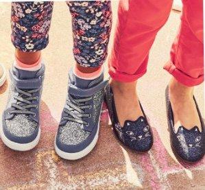 Extra 25% off Friends & Family Sale starts now! BOGO Free Kids Shoes @ OshKosh.com