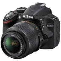 $298.95 Nikon D3200 24.2 MP CMOS Digital SLR Camera with 18-55mm VR Lens (Refurbished)
