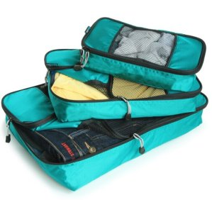 TravelWise Packing Cube System Durable 3 Piece Weekender Set