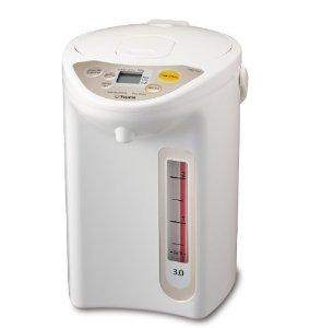 $86.7 Tiger PDR-A30U WU Micom Electric Water Boiler & Warmer, 3 L, White
