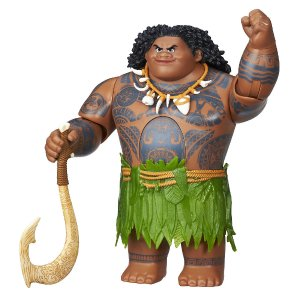 Disney Moana Princess Doll - Swing 'n Sounds Maui - Hasbro - Toys