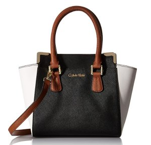 Calvin Klein On My Corner Saffiano Crossbody Handbag