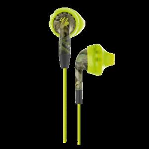Inspire® 100 Mossy Oak   In-the-ear, sport earphones feature TwistLock® Technology