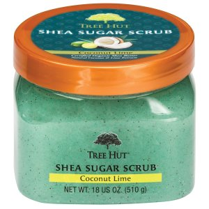 $13.62 Tree Hut Shea Sugar Scrub, Coconut Lime, 18 Ounce (Pack of 3)