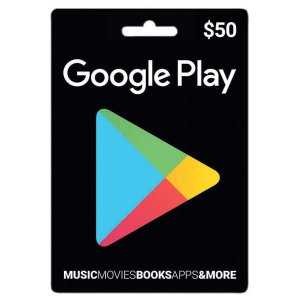 2016 Black Friday Doorbuster! $50 Google Play Gift Card