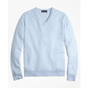 Cashmere V-Neck Sweater - Brooks Brothers