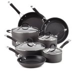 $132.49 11-Piece Circulon Hard-Anodized Momentum Cookware Set + 3-Qt Covered Saucepot
