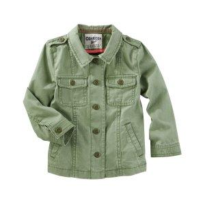 Toddler Girl Utility Jacket | OshKosh.com