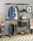$38.99 Whitmor Double Rod Freestanding Closet with Steel and Resin Frame