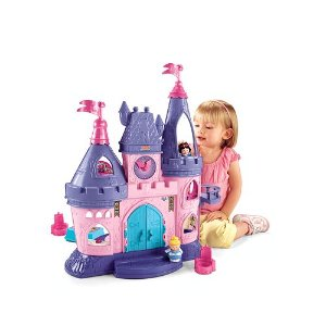 2016 Black Friday! $33.99 Disney Princess Little People Songs Palace by Fisher-Price