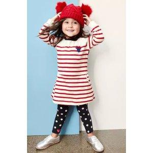 Disney Baby Minnie Mouse stripe dress