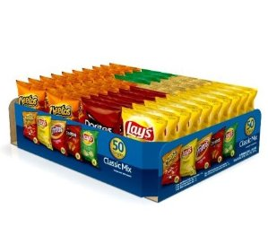 Frito-Lay Variety Pack, Classic Mix, 50 pack