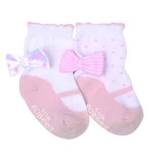 Take A Bow 2 Pack Baby Socks | Robeez