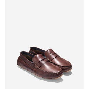 Kelson Penny Loafers in British Tan : Mens Shoes   Cole Haan