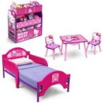 Kids Bedroom Set with BONUS Toy Organizer