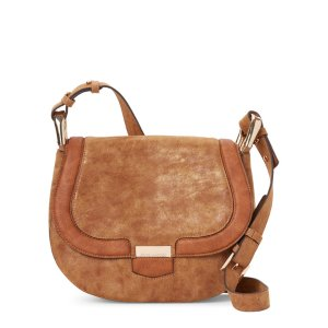 STEVE MADDEN Tan BPikee Saddle Bag