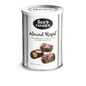 Almond Royal Chocolate Bites | See's Candies