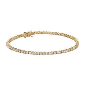 Diamond Tennis Bracelet in 18k Yellow Gold