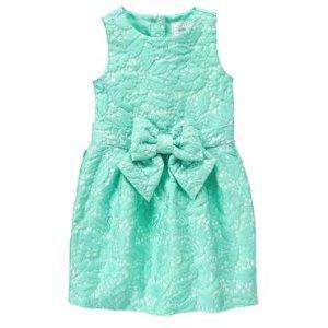 Girls Jade Jacquard Dress by Gymboree