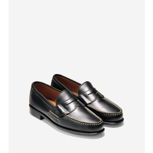 Men's Pinch USA Loafers in Black