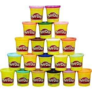 $11.89平均每大罐不到$0.6!Play-Doh培乐多彩泥20罐特惠装