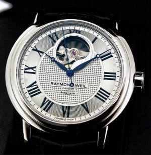 RAYMOND WEIL Maestro Automatic Silver Dial Men's Watch 2827-STC-00659