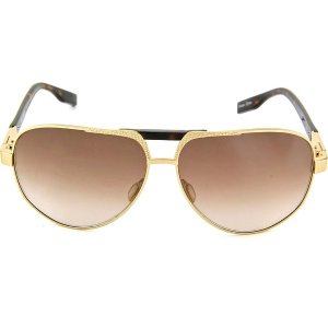 Nike Sunglasses - Monza / Frame: Gold and Tortoise Lens: Brown Gradient