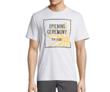 Opening Ceremony Doodle Embroidered Logo T-Shirt, White
