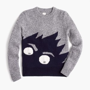 Boys' Max The Monster Wool Sweater : Boys' Sweaters   J.Crew
