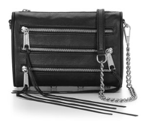MINI 5-ZIP CROSSBODY @ Rebecca Minkoff