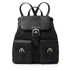 MICHAEL Michael Kors Cooper Flap Large Pebbled Leather Backpack | Bloomingdale's