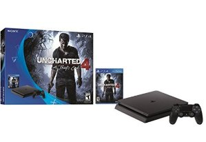 $212.49 PlayStation 4 Slim 500GB Console - Uncharted 4 Bundle